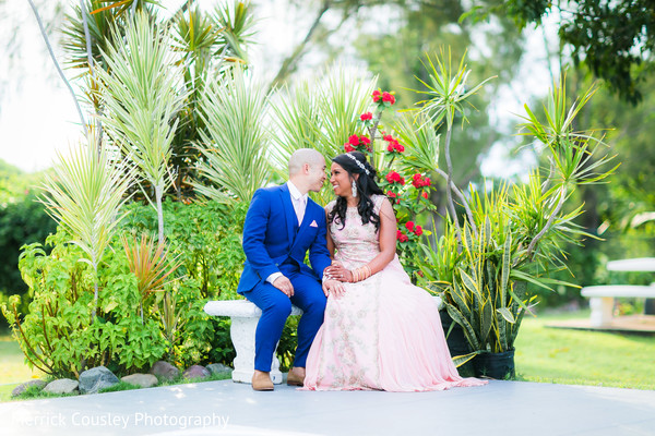 Indian couple natural photo shoot in St.Ann, Jamaica Indian Fusion Wedding by Merrick Cousley Photography