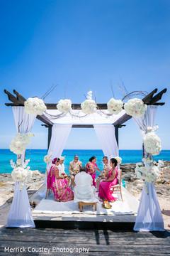 indian destination wedding,indian wedding ceremony floral and decor,mandap