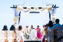 indian destination wedding,indian bride and groom