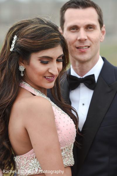Lovely indian bride makeup