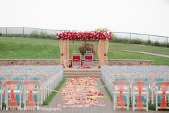 Outdoor indian wedding ceremony stage