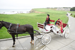 Marvelous indian just married carriage
