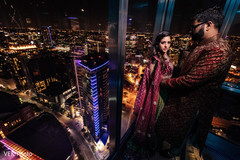 sangeet,pre-wedding photography,indian bride and groom