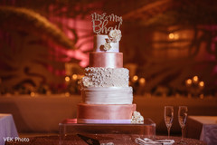 indian wedding reception,wedding cake,cake topper