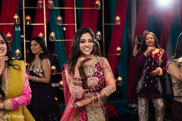 sangeet,pre- wedding celebrations,dj,performance,indian bride
