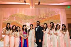 indian wedding reception,india muslim wedding,indian bridesmaids