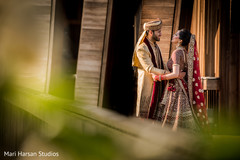 first look photography,indian bride and groom,indian wedding gallery