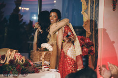 red sari,indian wedding reception,indian wedding speech