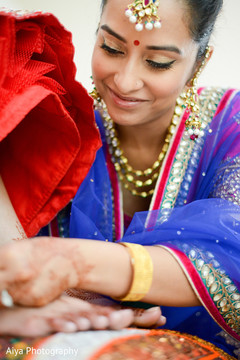 indian bride getting ready,indian bride