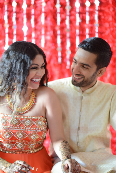 Adorable indian couple enjoying their time together in Glenview, IL Indian Wedding by Aiya Photography