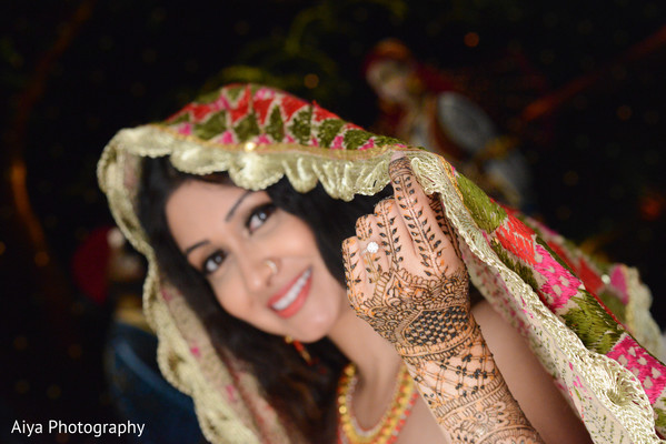 Charming indian bride capture in Glenview, IL Indian Wedding by Aiya Photography