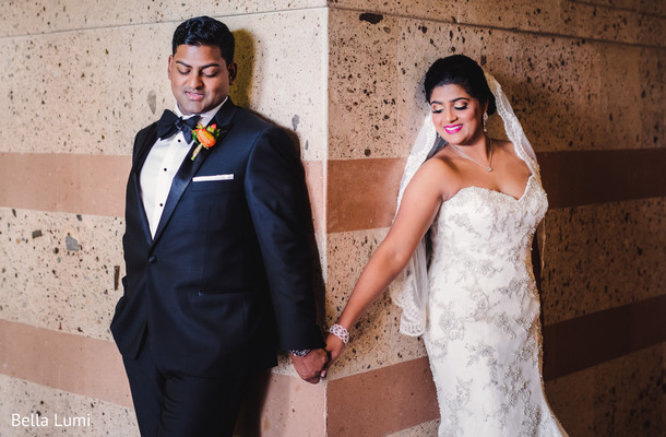 Sweet indian couple before their wedding ceremony in Texas City, TX South Asian Wedding by Bella Lumi