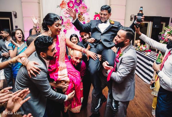 indian wedding reception,indian groom