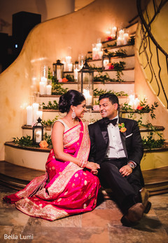 indian bridal fashion,indian couple,indian floral and decor