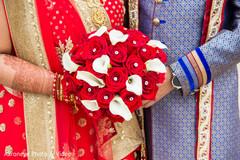 bridal bouquet,indian bride fashion