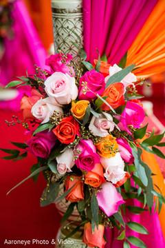 mandap,floral and decor,indian wedding decor
