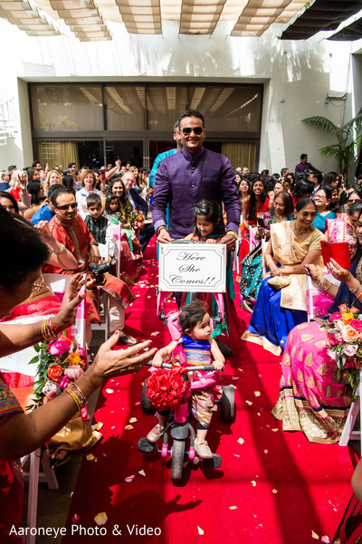 indian wedding,indian wedding entrance,flower girl