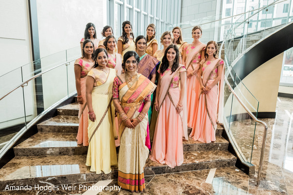 indian wedding,india bridesmaids