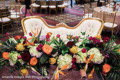 Gorgeous indian sweethearts table centerpiece