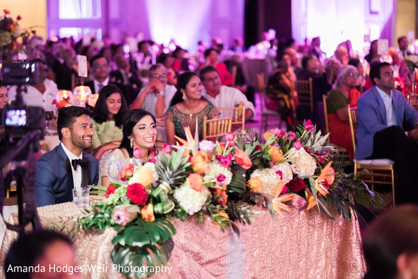 indian wedding,reception fashion