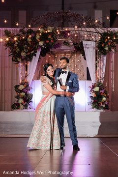 indian couple,indian wedding reception,wedding fashion