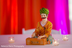 Creative garba centerpiece