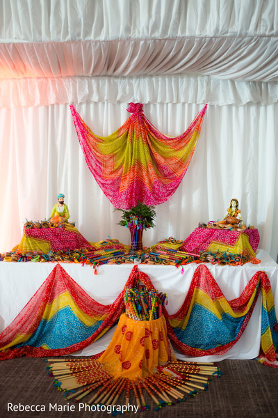 Indian wedding garba sticks