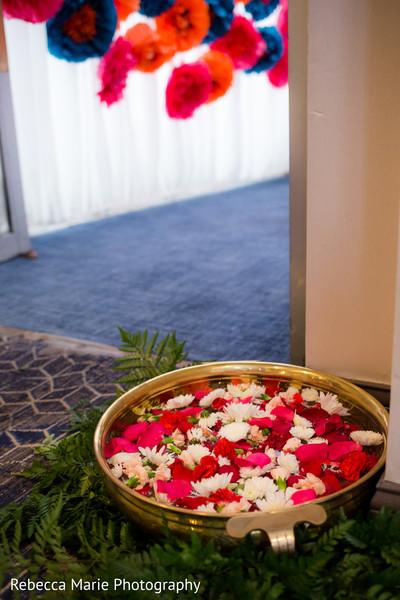 Phenomenal floral garba decor
