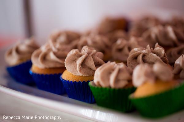 Delicious garba cupcakes