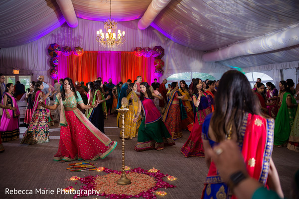 pre- wedding celebrations,indian wedding garba,indian bride fashion