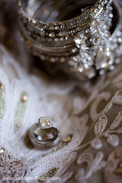 Dazzling indian wedding rings capture