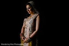indian bride fashion,golden lengha