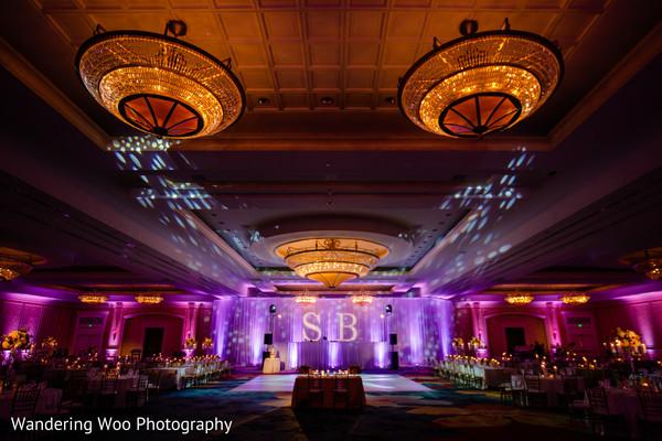 Marvelous indian wedding venue ambiance