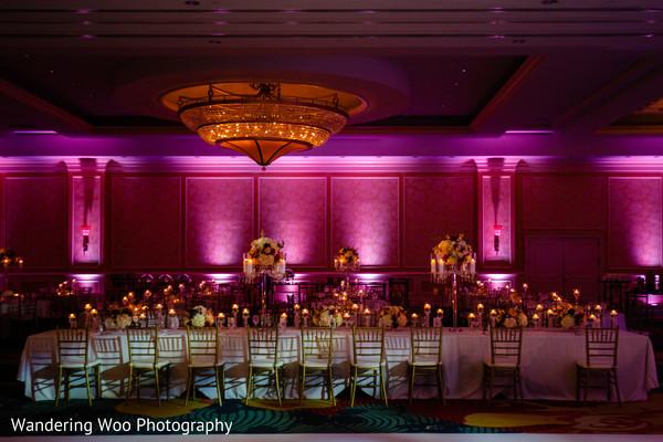 Delightful indian wedding reception decorations