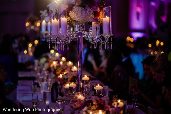 South asian wedding centerpieces ideas