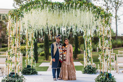 mandap,indian wedding floral and decor,indian wedding stage
