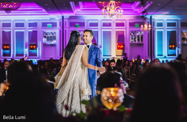 indian wedding reception,indian bride and groom,dj and entertainment