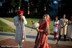 first look photography,indian groom fashion,indian bride fashion,indian bridal bouquet