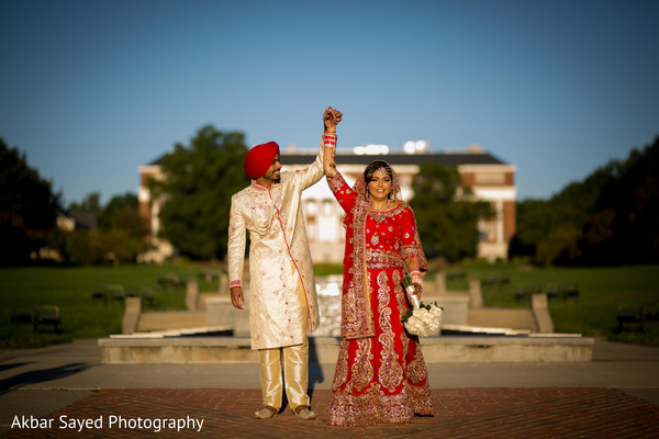 Indian bride and groom special moments
