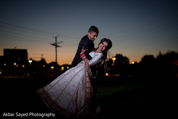Insanely cute indian bride and groom photography