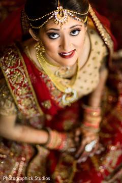 indian bride portrait,indian wedding photography,hair and makeup