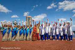 indian bridal party,indian groomsmen,indian bride and groom
