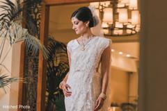 indian bride,white sari,indian wedding photography,bridal mehndi