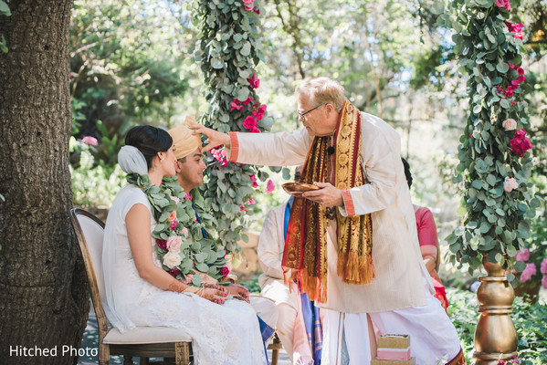 indian wedding ceremony,indian bride and groom,outdoor wedding ceremony
