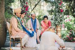 indian wedding ceremony,outdoor wedding ceremony,indian bride and groom