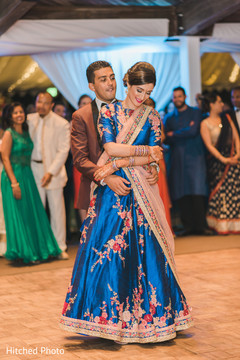 first dance,indian bride fashion,indian groom fashion