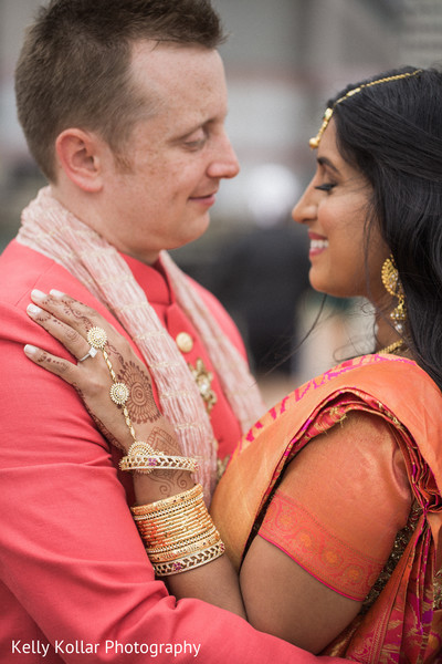 indian bride and groom,indian wedding photography,indian fusion wedding