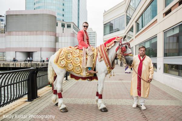 indian groom,baraat,baraat horse