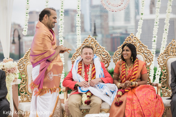 indian wedding ceremony,indian bride and groom,indian fusion wedding