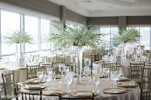 indian wedding reception,floral centerpieces,planning and design